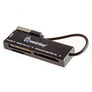 Карт-ридер внешний USB SmartBuy SBR-717-K Black