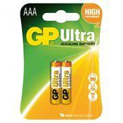 Батарейка AAA GP Ultra Alkaline LR03, 2 шт, блистер (24AU-CR2)