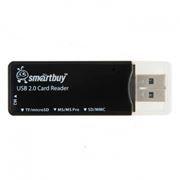 Карт-ридер внешний USB SmartBuy SBR-749-K Black