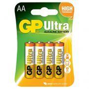 Батарейка AA GP Ultra Alkaline LR6, 4 шт, блистер (15AU-CR4)