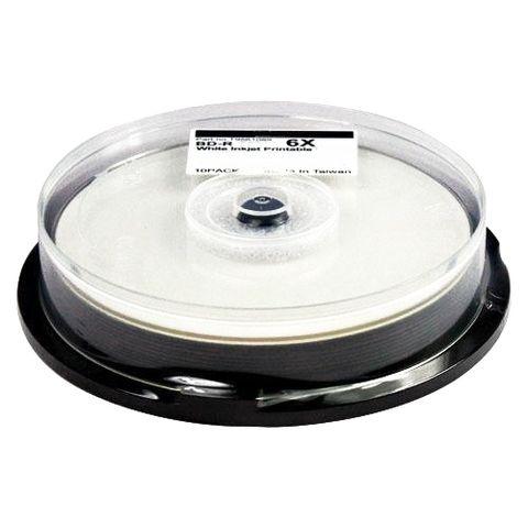 Диск BD-R CMC 50 Gb 6x Full Ink Printable, Cake Box, 10...