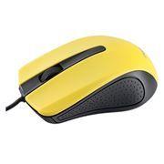 Мышь Perfeo PF-353-OP-Y, чёрно-желтая, USB