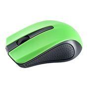 Мышь беспроводная Perfeo PF-353-WOP-GN, чёрно-зеленая, USB