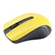 Мышь беспроводная Perfeo PF-353-WOP-Y, чёрно-желтая, USB