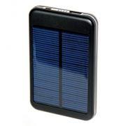Зарядное устройство KS-is KS-202, черное, солнечная батарея, 5000 мА/ч, 1.5A USB