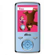 MP3 плеер 4Gb RITMIX RF-7650M Маша и Медведь, голубой