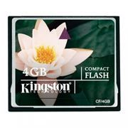 Карта памяти CompactFlash 4Gb Kingston (CF/4GB)
