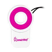 Карт-ридер внешний USB SmartBuy SBR-708-P Pink, microSD/microSDHC