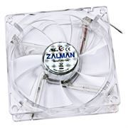 Вентилятор 92 x 92 x 25, 3 pin, подшипник, Blue LED, Zalman ZM-F2BL