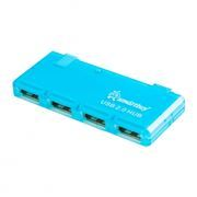 HUB 4-port SmartBuy SBHA-6110-B Blue USB2.0