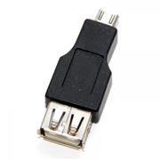 Адаптер USB 2.0 Af - micro Bm, 5bites (UA-AF-MICRO5)
