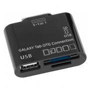 Адаптер-картридер для Samsung Galaxy Tab + USB-OTG, Defender SAM-Kit (87655)