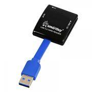 Карт-ридер внешний USB SmartBuy SBR-700-K Black USB 3.0