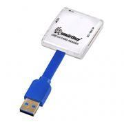 Карт-ридер внешний USB SmartBuy SBR-700-W White USB 3.0