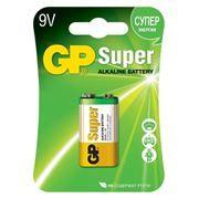 Батарейка 9V GP 6LR61 Super Alkaline, щелочная, блистер (1604A-CR1)