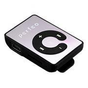MP3 плеер Perfeo Music Clip Color, черный (VI-M003 Black)
