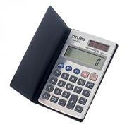 Калькулятор карманный Perfeo KT-2218, 12-разрядный, чехол, серебристый