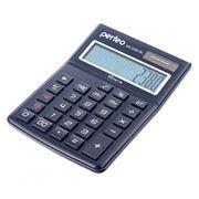 Калькулятор настольный Perfeo GS-2380-BL, 12-разрядный, бухгалтерский, синий