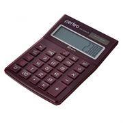 Калькулятор настольный Perfeo GS-2380-R, 12-разрядный, бухгалтерский, красный
