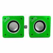 Колонки CBR S 27 Green, питание от USB