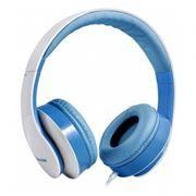 Гарнитура DEFENDER Accord 168 для мобильных устройств и ПК, бело-голубая (63168)