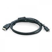 Кабель HDMI micro - HDMI 19M/micro D, 1 м, черный, Sven (00548)