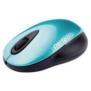 Мышь беспроводная Perfeo Space, голубая, USB (PF-7087-WOP-BL)