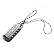 32Gb QUMO Charm Series Ice Crystal, Swarovski Elements (QM32GUD-Charm-Ice)