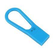 Карт-ридер внешний USB Mirex Carabine Blue для microSD(HC)  (13620-CRDCARBL)