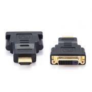 Адаптер DVI/F - HDMI/M, позолоченные контакты, Gembird/Cablexpert (A-HDMI-DVI-3)