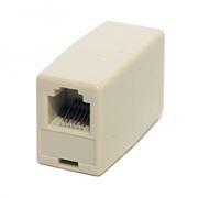 Адаптер проходной RJ12-RJ12 6P6C для соединения двух телефонных патч-кордов