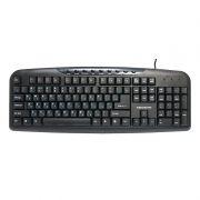 Клавиатура Nakatomi  KN-11BU USB, черная