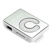 MP3 плеер Perfeo Music Clip Color, белый (VI-M003 White)