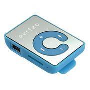 MP3 плеер Perfeo Music Clip Color, голубой (VI-M003 Blue)