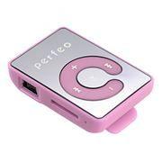 MP3 плеер Perfeo Music Clip Color, розовый (VI-M003 Pink)