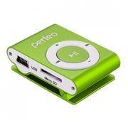 MP3 плеер Perfeo Music Clip Titanium, зелёный (VI-M001 Green)
