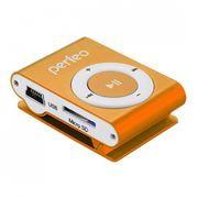 MP3 плеер Perfeo Music Clip Titanium, оранжевый (VI-M001 Orange)