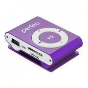 MP3 плеер Perfeo Music Clip Titanium, фиолетовый (VI-M001 Purple)