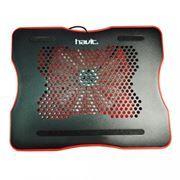 Подставка для охлаждения ноутбука HAVIT HV-F2007 Black/Red