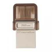 32Gb Kingston DataTraveler microDuo, совместим с Android, microUSB/USB (DTDUO/32GB)