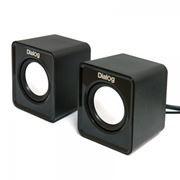 Колонки DIALOG COLIBRI AC-02UP Black, питание от USB