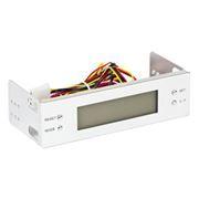 Панель в 5 отсек, ЖК-дисплей, контроль температуры и скорости вентиляторов, Gembird (CHM-01)