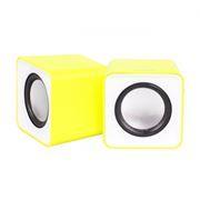 Колонки SmartBuy MINI, желтые, питание от USB (SBA-2820)