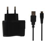 Зарядное устройство SmartBuy NOVA, 2.1A microUSB, черное (SBP-1160)