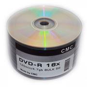 Диск DVD-R CMC 4,7 Gb 16x Blank, Bulk, 50шт