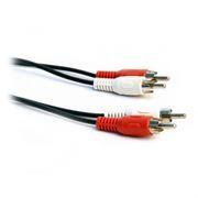Кабель аудио/видео 2 RCA plug - 2 RCA plug, 1.0 м, 5bites