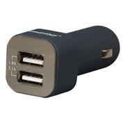 Зарядное автомобильное устройство SmartBuy AMPER, 3.1A 2xUSB, графит (SBP-1800)