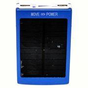 Зарядное устройство KS-is KS-225, синее, солнечная батарея, 13800 мА/ч, 2.1A + 1A USB