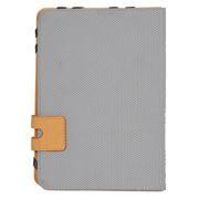 Чехол для планшета 10.1, серый с оранжевым, кожзам., Defender Favo uni (26062)
