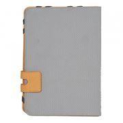 Чехол для планшета 7, серый с оранжевым, кожзам., Defender Favo uni (26061)